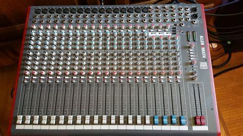 Mixer Allenheath Zed 24 allen heath zed 24 image 1468985 audiofanzine