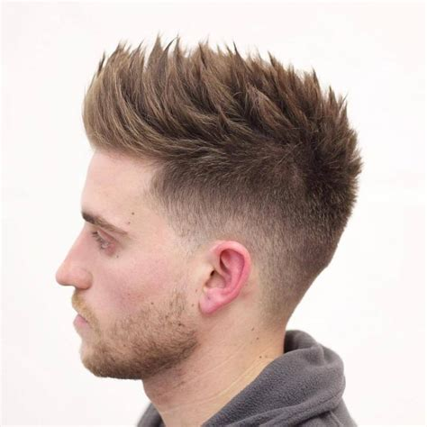 spiky fade haircut latest men haircuts spiky fade haircut www pixshark com images galleries