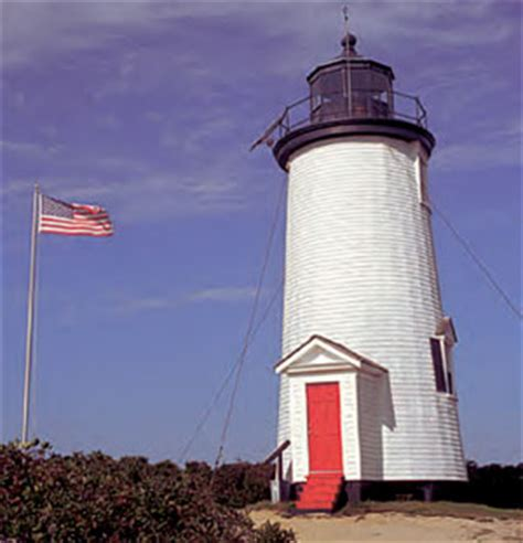 Chappaquiddick Island Lighthouse Cape Poge Lighthouse Carroll And Vincent Real Estate