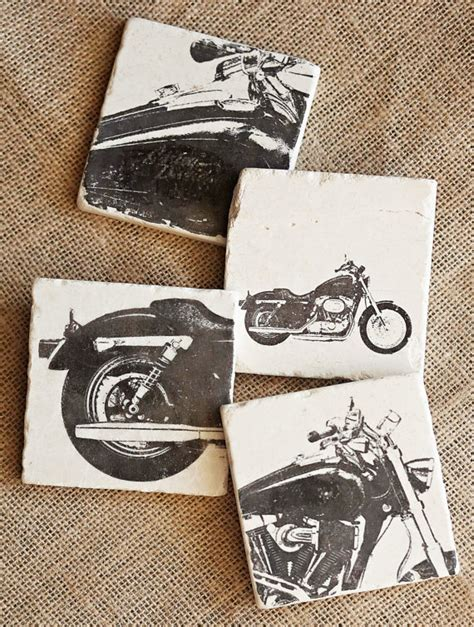 motorcycle home decor motorcycle coasters motorcycle home decor harley decor
