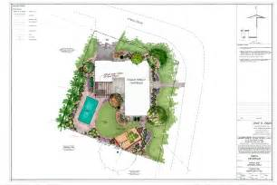 Plans Design Residential Landscaping Plan Images