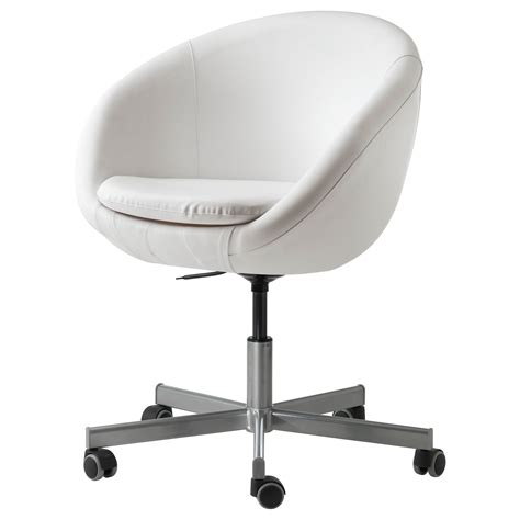skruvsta swivel chair idhult white swivel chair room