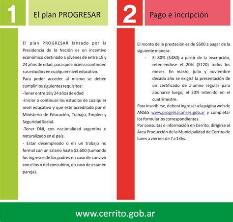 formulario de progresar 2016 saudecorpoefitnesscom plan progresar 2016 formularios newhairstylesformen2014 com