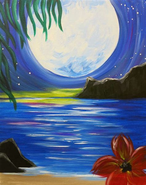 paint nite jersey city aloha nights sat apr 16 7pm at pinot s palette somerville