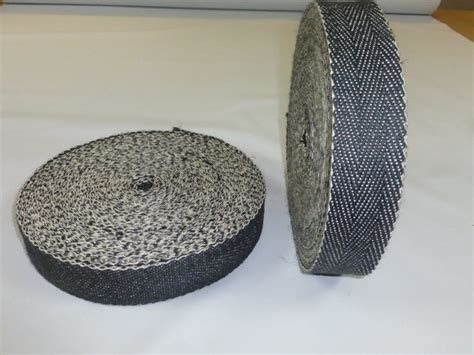 upholstery supplies webbing full roll of black white 2 quot upholstery webbing for seats