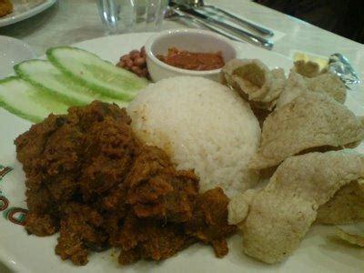 New Chitato Beef Rendang Mango Sticky Rice Fried Crab Egg Yolk nasi lemak beef rendang dome cafe malaysia food restaurant reviews