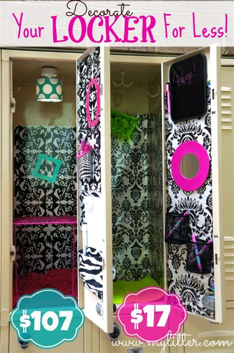 Dollar Store Home Decor Ideas by How To Decorate A Locker For Less Mylitter One