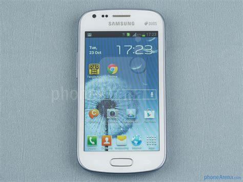 Samsung Duos Samsung Galaxy S Duos Review