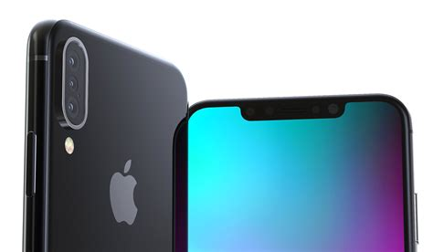 2018 iphone x plus concept renders display an unlikely feature