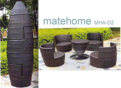 china garden outdoor furniture rattan chair mha d2