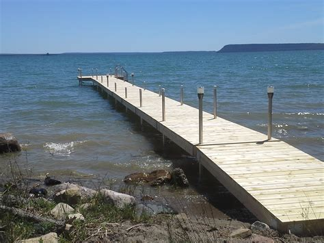 dock r docks manitoulin cedar products