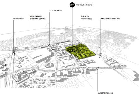 layout of maine mall a look at pretoria s r8 billion green city
