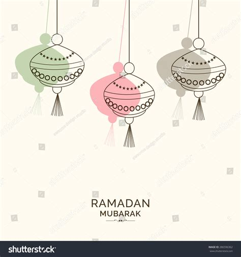 Ramadan Kareem Greeting Card Template by A Greeting Card Template Ramadan Kareem Imagen De
