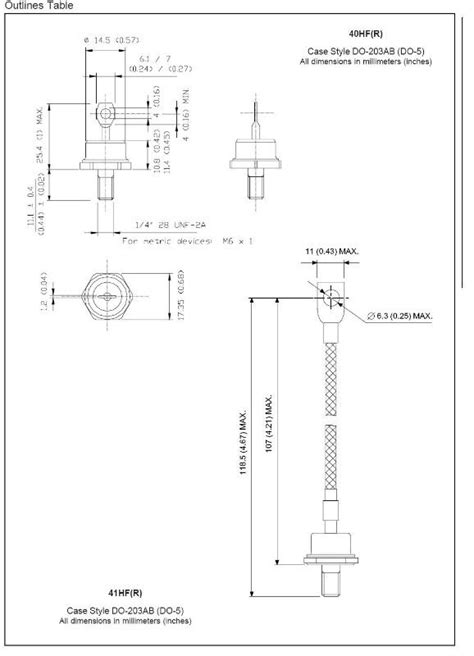 dioda in4007 parametric rectifier diode parameters 28 images simple diode circuits 3 phase brige diode rectifier