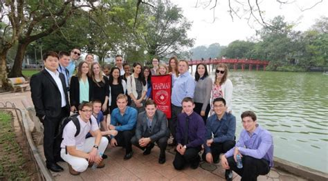 Chapman Mba Class Profile by Students From The Argyros School Of Business Spend