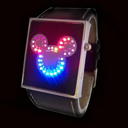 Led Watches Aa W026 led watches aa w008 black jakartanotebook