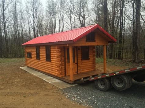 Trophy Cabins by Trophy Amish Cabins Llc 10 X 26 C