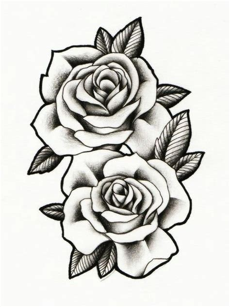 multiple rose tattoos black and grey roses drawing at getdrawings free for