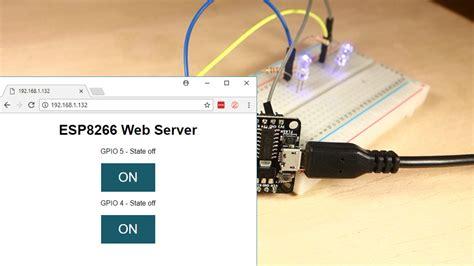 esp8266 tutorial arduino ide esp8266 web server with arduino ide random nerd tutorials