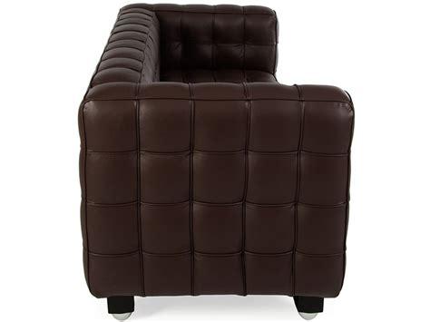 divani marroni divano kubus 2 posti marrone