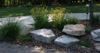 Rock In Garden Landscaping Boulders Rocks Our House 300x159 Rocks In The Garden Church Remodel