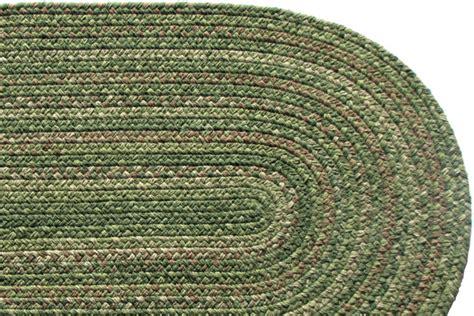 stroud braided rugs lowcountry green wool braided rug