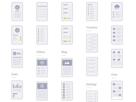 wireframe templates free wireframe kits templates for ui designers