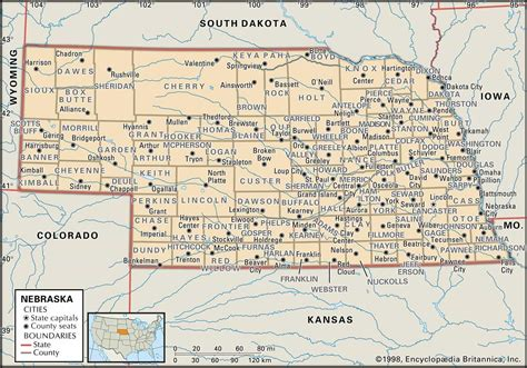 Nebraska Court Records Historical Facts Of Nebraska Counties
