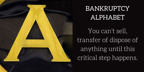 section 541 of the bankruptcy code bankruptcy alphabet a is for abandonment