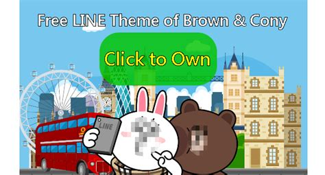 theme line android brown cony free list line theme brown cony join burberry in