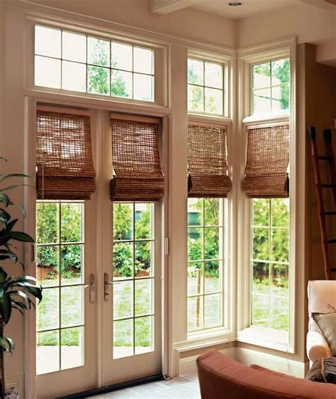 How Do You Put Blinds Down 15 Brilliant French Door Window Treatments