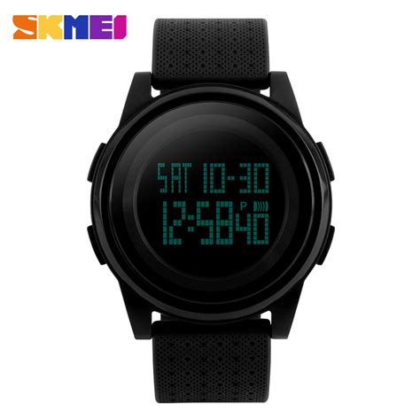 Skmei Jam Tangan Digital Pria Cowok Keren skmei jam tangan digital pria dg1206 black jakartanotebook