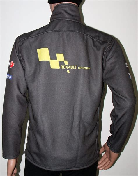 renault sport grey zip jacket t shirts with all of