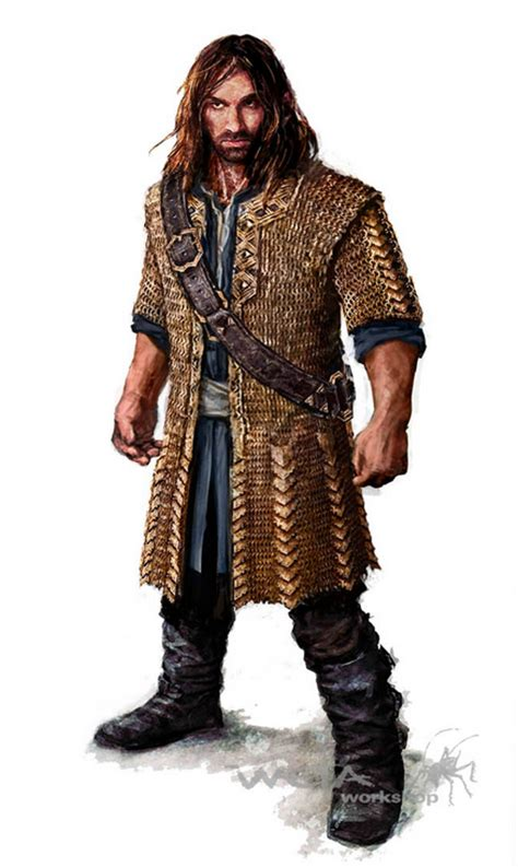 kili light chain mail armour  image lorddainofironhills