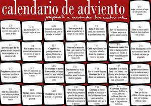 Calendario De Adviento Para Ninos Reflejos De Luz Calendario De Adviento