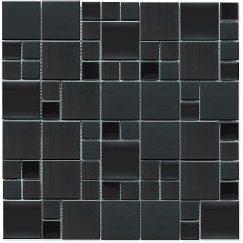 pattern magic buy buy 12x12 stainless steel magic pattern mosaic blend