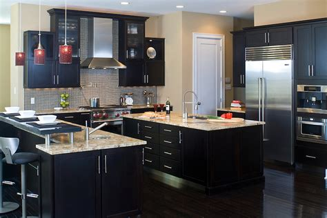 Kitchen Design With Dark Cabinets 22 dark kitchen ideas inspirationseek com