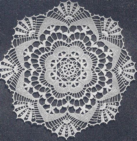 pattern crochet lace vintage crochet pattern to make cluny lace doily