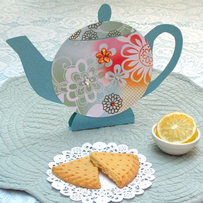 How To Make A Paper Teapot - pretty paper teapots disney family