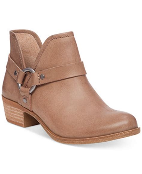 macy s lucky brand boots lucky brand s bashira harness booties boots