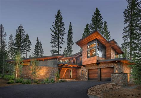 Rustic Mountain Cabin Cottage Plans putter s cabin contemporary exterior sacramento by