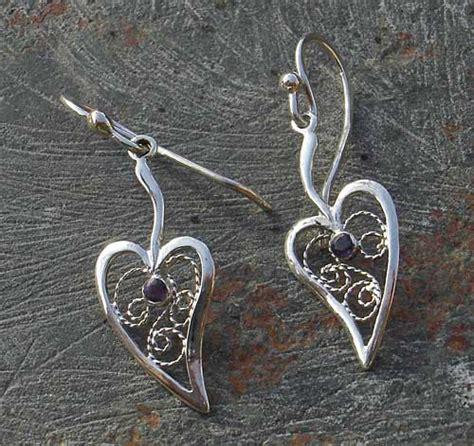 Silver Earrings Uk Handmade - handmade silver hook earrings love2have in the uk