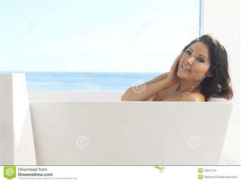 model in bathtub asian model in bath stock images image 18241734
