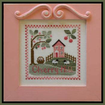 country cottage needleworks pumpkin cottage cross stitch pattern 123stitch com country cottage needleworks cherry hill cross stitch