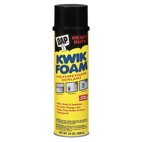 Dap 18232 Kwik Foam Polyurethane Sealant 23.5 Home Depot