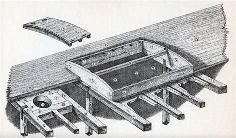 wooden boat hatch construction shipbuilding penobscot bay history online