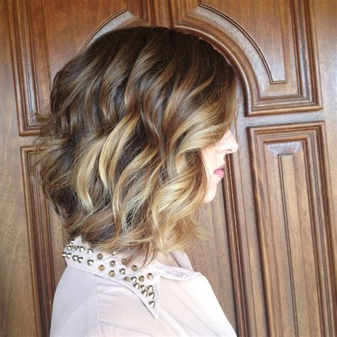 curly lob hairstyle pictures 26 beautiful hairstyles for shoulder length hair pretty