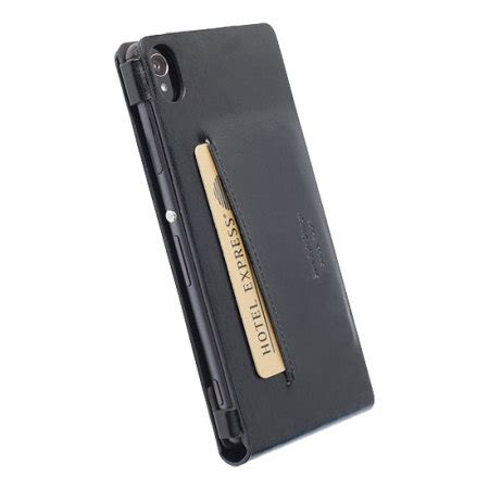 Krusell Kalmar Wallet Sony Xperia T3 krusell kalmar sony xperia z3 wallet black reviews mobilezap australia