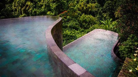 hanging infinity pools in bali hanging gardens ubud karmatrendz