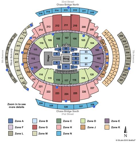 seating chart for square garden cheap square garden tickets
